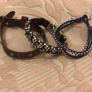 Set of 3 American Eagle Bracelets